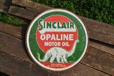 Sinclair Opaline Motor Oil Tin Metal Sign - Dino - Dinosaur - Gasoline - Retro