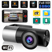 WIFI 1080P HD Car Dash Cam Hidden Car DVR Camera Recorder Night Vision G-Sensor