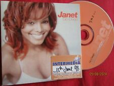 Janet Jackson – Go Deep Jam & Lewis Radio Edit/Extended Mix  Promo CD Single