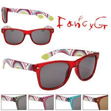 Unisex Fashion Sunglasses Fun Patterns UV 400 Protection x 12 Assorted