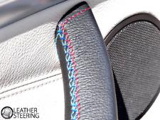 BMW X5 E70 (07-13) Inside Door Handle Cover black leather M Sport Stitch - Left