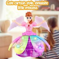 Electric Dancing Female Doll Dazzling Dance Little Princess Robot Children Toy