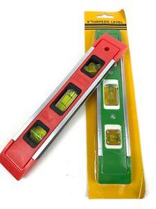 Wasserwaage mit Magnet 22cm Mini Kunststoff magnetisch