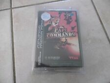 Papi Commando Collector Limited Edition Sega Megadrive Genesis NEW SEALED