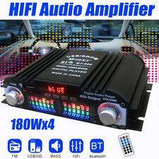 720W HiFi Verstärker bluetooth Audio Auto Stereo Mini Power Car Amplifier 4CH