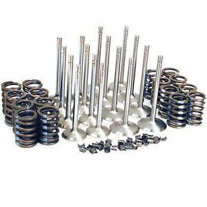 New Intake & Exhaust Valves & Springs Ford 429 460 1968-1972 bb Big Block