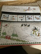 Christmas 2001 First Day Cover. Mint Condition