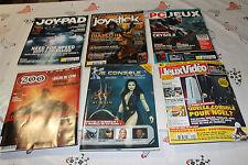 LOT DE 6 MAGAZINES DIVERS SUR LE JEUX VIDEO  EN FRANCAIS 2010