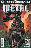DARK NIGHTS METAL #1 (ANDY KUBERT VARIANT COVER) COMIC BOOK ~ DC Comics