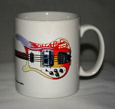 Guitar Mug. Paul McCartney's 1964 Rickenbacker 4001S Bass illustration.
