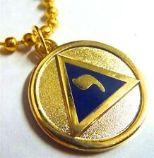 YOD 14th Degree Lodge of Perfection Scottish Rite Masonic Necklace Pendant