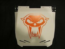 Arctic Cat Pro Climb M1100T LIMITED Snow Flap, M1100 WHITE _New Cat Head_Orange