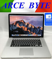 "APPLE MACBOOK PRO 15"" RETINA DISPLAY * INTEL CORE i7 * FATTURABILE * RAM 16GB"