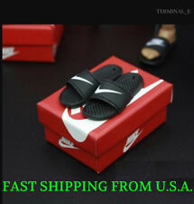 1/6 Scale Nike Slides Sandals Slippers Shoes A For Hot Toys Phicen Figure ❶USA❶