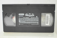 Two Much VHS Movie