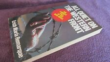 All Quiet on the Western Front ~ Erich Maria Remarque Vintage Sc  UNread in MELB