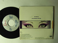 Suzy Andrews 45 ps Scandal bw Goldener Reither   VG++ to M-