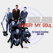 Ronnie Jones - Satisfy My Soul: The Complete Recordings 1964-1968 [CD]