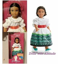 """American Girl NEW 6.5"""" Mini Doll Josefina Special Edition 2016 Feast Outfit"""