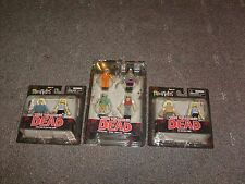 The Walking Dead Mini Mates Series 4 Set (8 Figures Total) NEW MOC MINIMATES