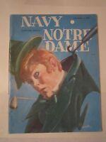 1978 NOTRE DAME VS NAVY COLLEGE FOOTBALL PROGRAM - TUB Q