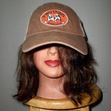 TWO DOGS Orange Brew logo Australia malt liquor lemonade hat 1990s trucker cap