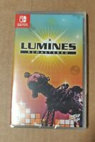 Lumines Remastered 027 for Nintendo Switch by Limited Run Games NEW SEALED