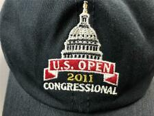Us Open 2011 Congressional Golf Usga Member Hat Cap Cotton Adjustable Back Navy