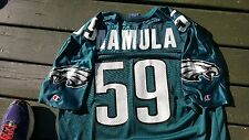 Mike Mamula Jersey Philadelphia Eagles BC Patriots Boston Champion 48 jersey USA