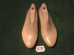Pair Vintage Wood Large Size 11 EEE #2172 Shoe Factory Industrial Last #E-31