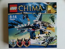 Nuevo En Caja De Lego 70003 Leyendas De Chima eri el Águila Interceptor Con 3 Mini Figuras