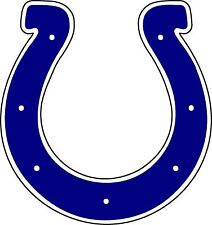 "Indianapolis Colts NFL Football wall decor sticker,large vinyl decal, 9.5""x 9"""