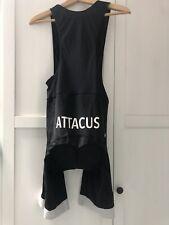 Attacus Black / White Bib Shorts L
