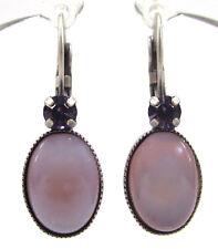 SoHo® Ohrringe Ohrhänger geschliffene Kristalle tanzanite & böhmisches Glas lila
