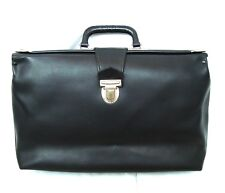 Vintage faux leather Doctor's bag Travelling bag Hand bag
