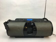 Insignia NS-B2114 CD Boombox with Radio and iPod /iPhone charger and dock