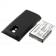 Battery for Sony Ericsson Xperia x10 x10i-Black (ers. bst-41) - 2600 Mah (Fat)