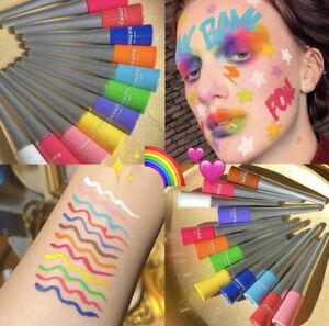 Colorful Neon liquid eyeliner Gel WaterProof Blue Green White Eye Liner Pencil
