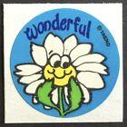 Vintage Trend MATTE Scratch & Sniff Sticker - Flower - Mint!!