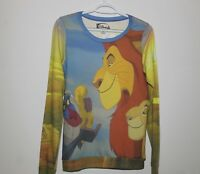 Walt Disney Women's Medium Size Lion King Long Sleeve Shirt Brand New With Tags