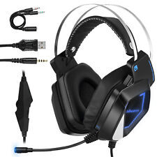 3.5mm H830 Stereo Gaming Headset MIC Headphones for PC Laptop PS4 Xbox One