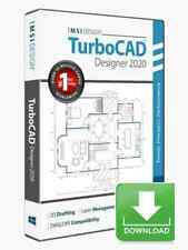 TurboCAD Designer 2020 2D CAD Design Software -- Electronic Download