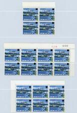 Jamaica 1969 Overprint Varieties & Flaws - 8c SG285, Blocks x3, Varieities?