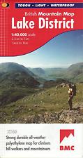 Harvey British Mountain Map - BMC - Lake District