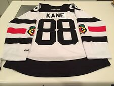 Chicago Blackhawks Patrick Kane Reebok White 2016 Stadium Series Jersey Medium
