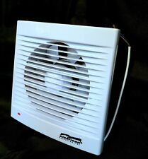"Bathroom Extractor Fan 4"" 5"" 6"" very Quiet Slim Low Profile Kitchen Airvent BF19"