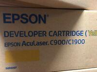 EPSON DEVELOPER CARTRIDGE ACULASER C900/C1900 -  Yellow Print Cartridge