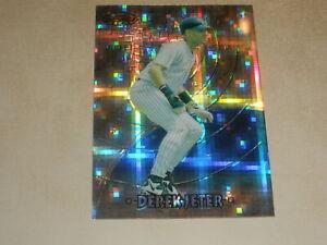 1997 Bowman's Best Preview Atomic Retractor #BBP4 Derek Jeter New York Yankees