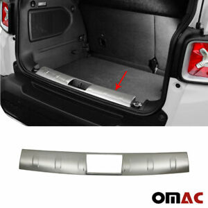 For Jeep Renegade 2015-2020 Chrome Inner Trunk Sill Cover Guard Brushed S.Steel