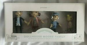Pottery Barn Kids Moore Family Toys Dollhouse NWT w Defecect